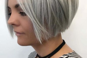 Short blunt bob haircut styles for Women 2019