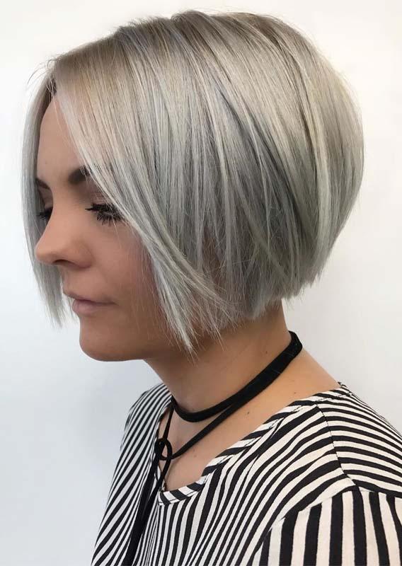 Short blunt bob haircut styles for Women 2019