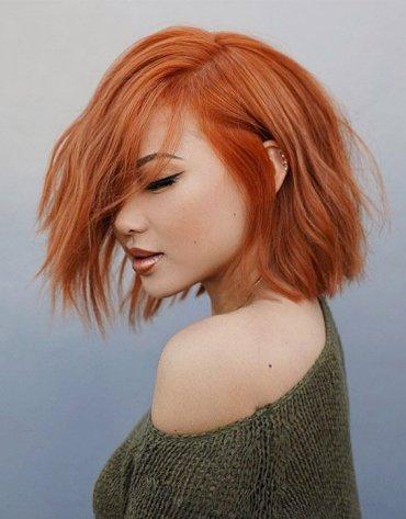 Fantastic Copper Bob Hair Ideas to Copy In 2019