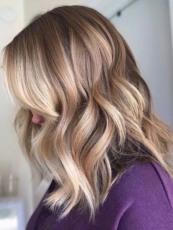 Balayage Hair Colors and Highlights for Fall Season 2019