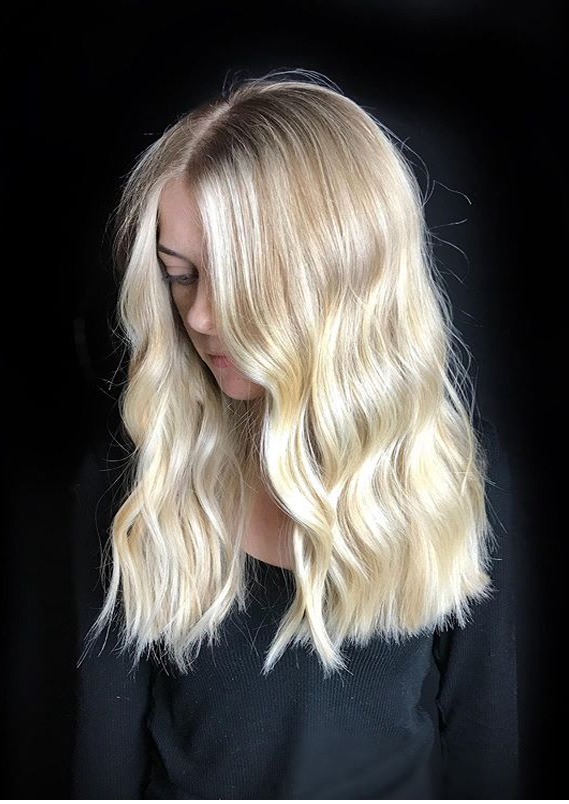 Blonde Highlights with BabyLights You Must Try in 2019