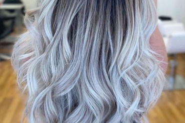 Bright and Beautiful Blonde Shades with Dark Roots in 2020