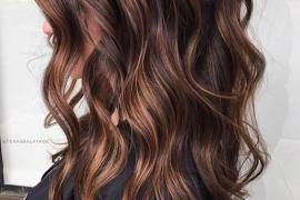 Chocolate brown hair colors and hairstyles for Women in 2018