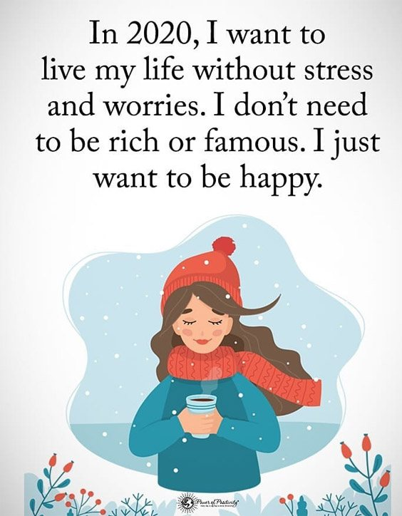 I Just want to be Happy - Best Life Quotes to Motivate You