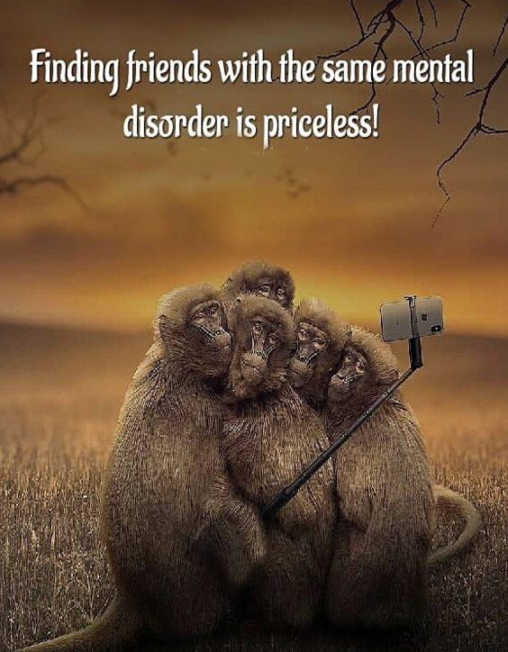 Same Mental Disorder is Priceless - Best Friendship Quotes