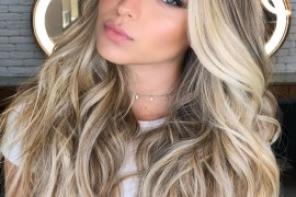 Adorable Blonde Hair Color Highlights for Long Hair