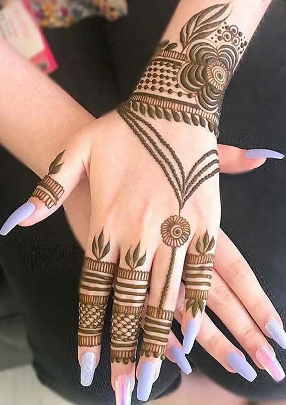 Cutest Mehndi and Henna Designs for Women to Wear in 2020