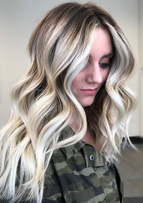 Fresh Blonde Hair Colors with Balayage Highlights to Try Nowadays