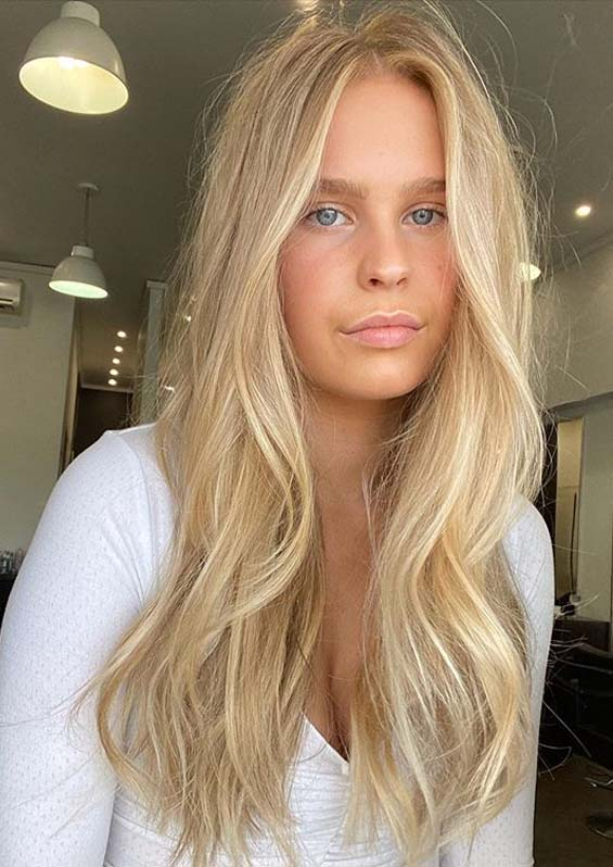 Awesome Long Blonde Hairstyles for Women in 2020