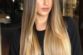 Lovely Long Light Brown Hair Color Highlights for Girls