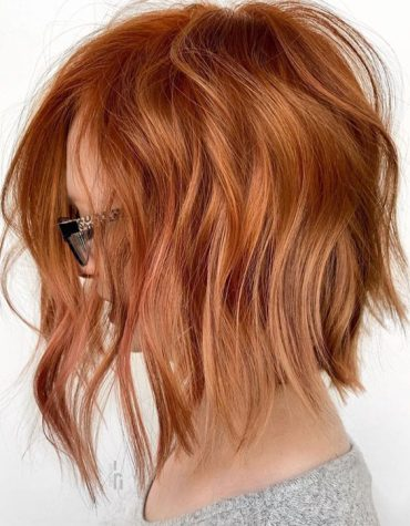 Stylish Texture Medium Haircuts for Girls In 2020