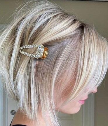 Best Short Blonde Bob Haircuts for Women 2020