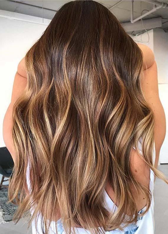 Lovely Shades Of Brunette Hair Colors for Women 2020