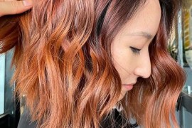 Bold Fiery Copper Hair Color Trends to Sport in Current Year