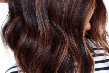 Fresh Chocolate Brown Hair Colors Highlights