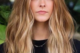 Golden Balayage Hair Color Shades and Hairstyles for 2020
