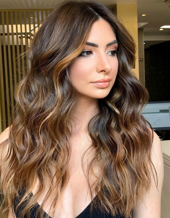 Graceful Style of Balayage Hair Color for Long Hair