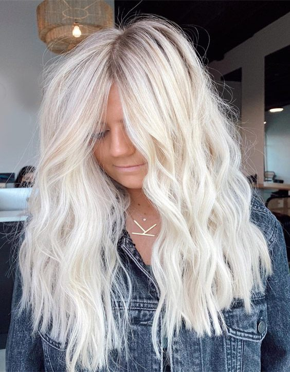 Modern Style of Blonde Highlights for Long Hair