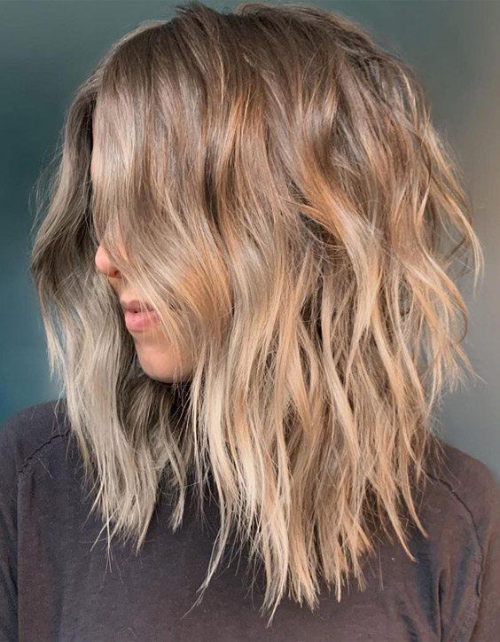 Modern Ways of Texture Bob Hair Cut to wear In 2020