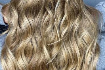 Dimensional Golden blonde Hair Color Ideas