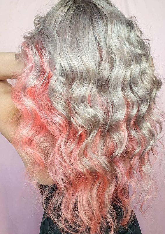 Fantastic Pulpriot Hair Color Highlights for Ladies