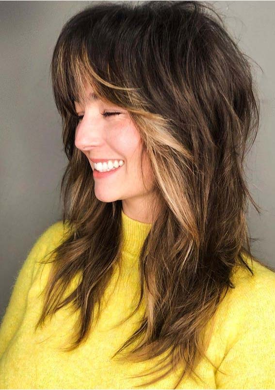 Adorable Ideas Of Shag Hairstyles for Long Hair