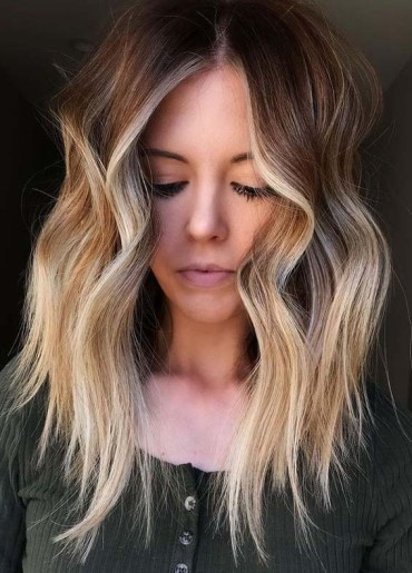Beautiful balayage Hair Colors and Highlights for Ladies in 2021