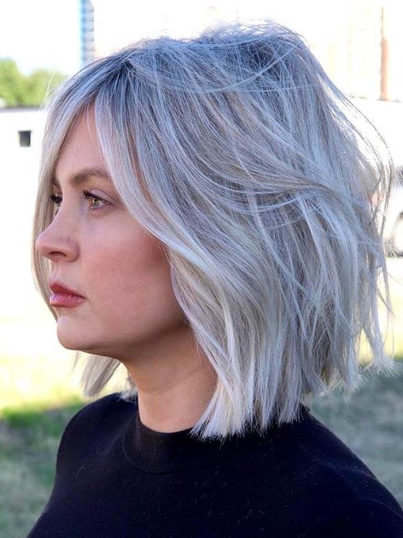Favorite Styles Of Blonde Textured Bob Haircuts