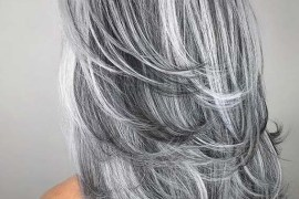 Gorgeous Silver Grey Hair Color Shades