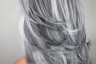 Gorgeous Silver Grey Hair Color Shades