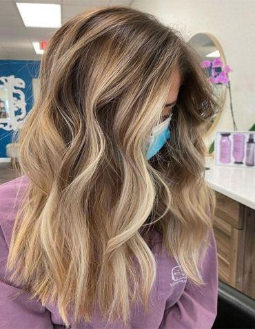 Modern 2021 Balayage Hair Color for Stylish Girls