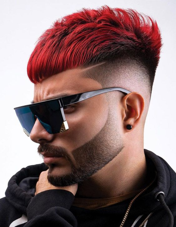 Unique Look of 2021 Men Haircut & Hairstyles