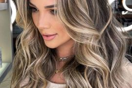 Unique Look of 2021 Blonde Highlights for Girls