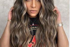 2021 Caramel Hair Color Style for Long Hair