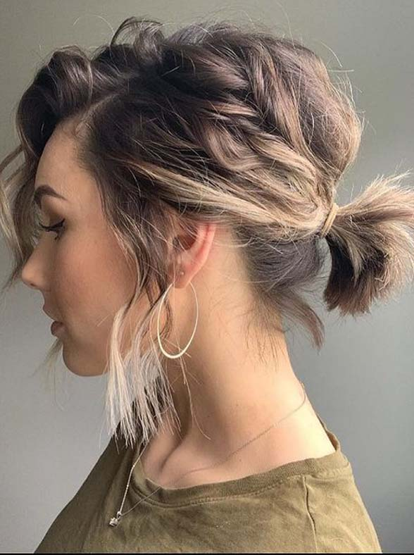 Best Short Ponytail Hair Styles and Cuts