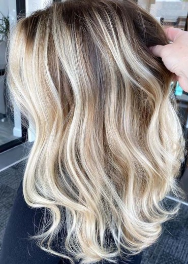 Dimensional Balayage Hair Color Shades to Show Off