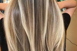 2021 Fresh Contrast & Balayage Hair Color for Girls