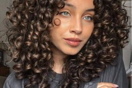 Awesome Shoulder Length Curly Hair In 2021