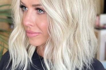 Elegant Beachy Blonde Hair Cut Styles to Sport