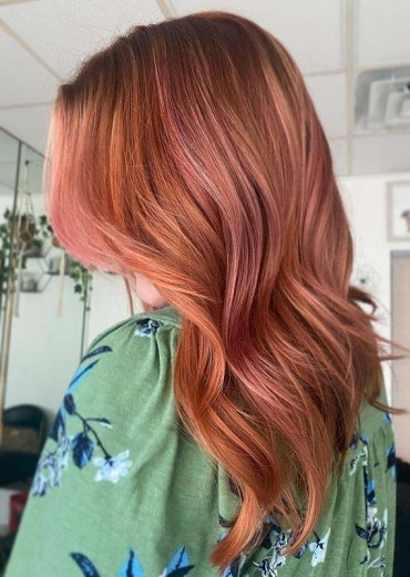 Gorgeous Red Copper Hair Color Trends
