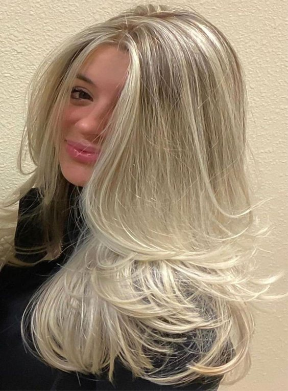 Edgy 2021 Hair Color Style for Long Hair