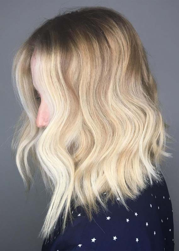 High Volume Medium Layers Hair