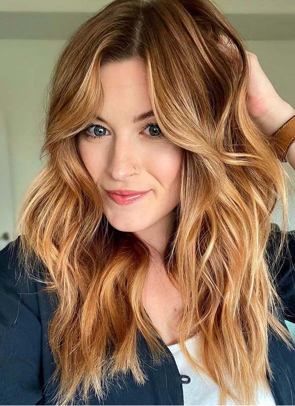 Superb strawberry blonde Hair Color Shades for Girls
