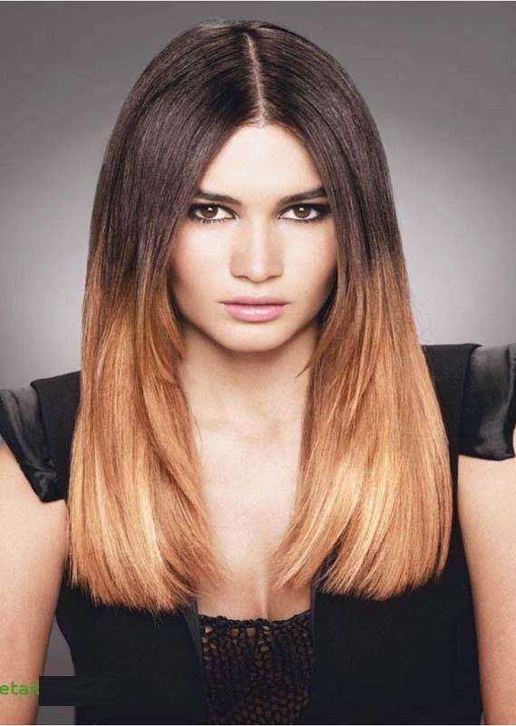 Sleek Straight Haircuts