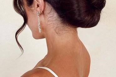Classical Bridal Bun HairStyles for Girls