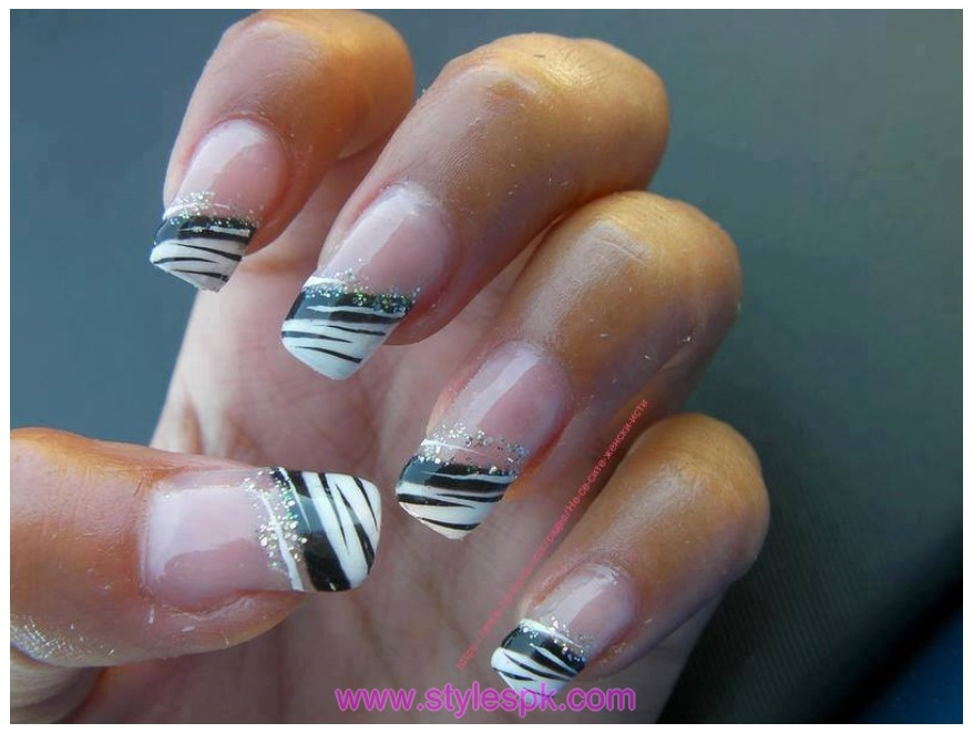 Light Nail Art Design Shades