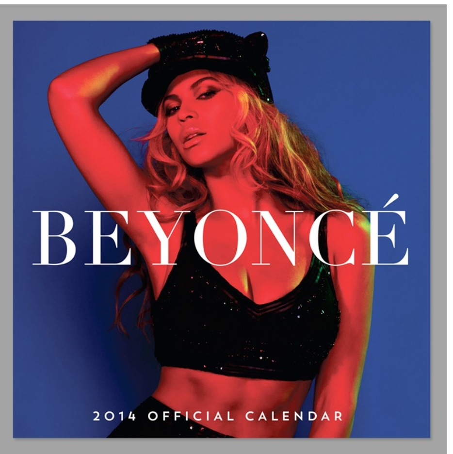 BEYONCÉ Official 2014 Calendar (Photo Beyonce.com)