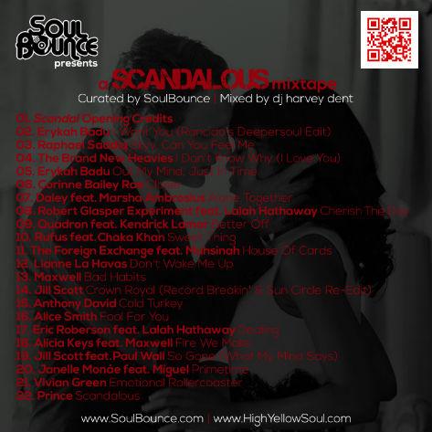 A Scandelous Mixtape, 22 contemporary soul songs hot for Scandal!