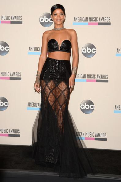 Rihanna Jean Paul Gaultier and doobie