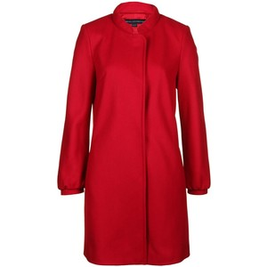 French Connection Wonderland Ruby Wool Coat